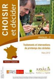 choisir et décider - Mars 2012 - Chambre d'Agriculture du Gard