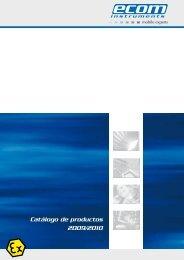 Catálogo de productos 2009/2010 - Ecom instruments