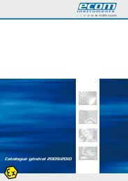 Catalogue général 2009/2010 - Ecom instruments
