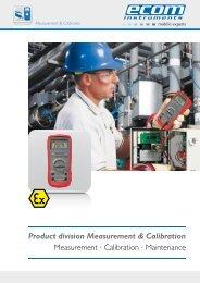 Download brochure - Ecom instruments