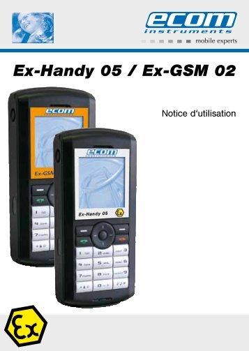Ex-Handy 05 / Ex-GSM 02 - Ecom instruments