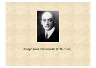 06_Schumpeter_2011 - Scienze Politiche