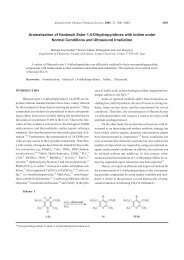 Aromatization of Hantzsch Ester 1,4-Dihydropyridines with Iodine ...