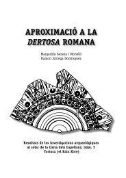 AproximAció A lA Dertosa romAnA - Ex officina hispana