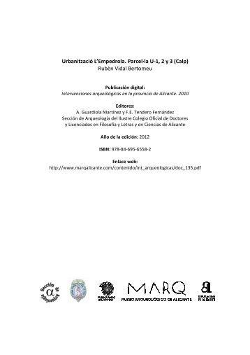 2010-0732 Urbanización La Empedrola \(Calp\) Vidal ... - Marq