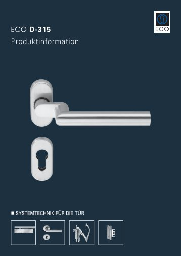 ECO D-315 Produktinformation - ECO-Schulte