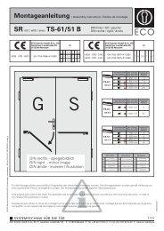 (SR TS-61/TS-51 B) (PDF) - ECO-Schulte