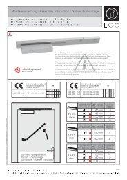 (EFR BG TS-61/TS-51 G) (PDF) - ECO-Schulte