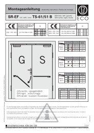 (SR-EF TS-61/TS-51 B) (PDF) - ECO-Schulte