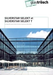 Brochure SILVERSTAR SELEKT - Glas Trösch