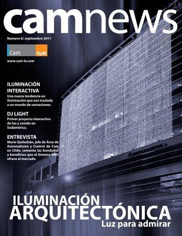 Edición N°6 Iluminación Arquitectónica - Cam