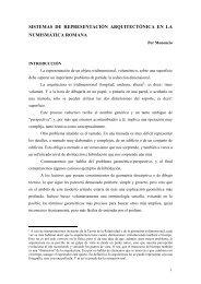 sistemas de representación arquitectónica en la ... - Denarios.Org
