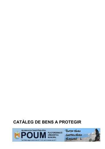 Catàleg Bens - Ajuntament de Castell-Platja d'Aro