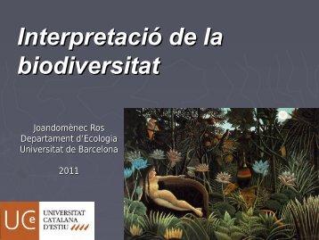 Primeres Jornades de les Àrees Protegides «La informació