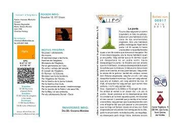 Butlleti mayo 2012.pmd - Palabra Viva: Francesc Montaño i Daza