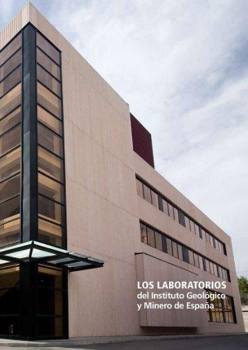 Los laboratorios del IGME - Instituto Geológico y Minero de España