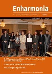 El CPMT guanya la menció d'honor del Premi a l'Acció Magistral ...