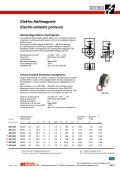 Elektro-Haftmagnete Electro-aimants porteurs - Maurer Magnetic AG - Page 2
