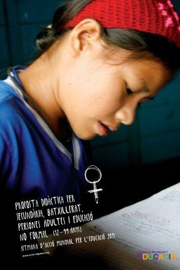Proposta didactica per secundaria, BATXILLERAT, PERSONES ...