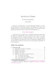 Mon premier document LaTeX - Ensta