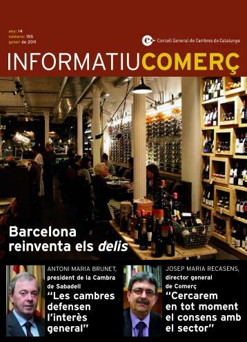 INFORMATIU DEL COMERÇ - Gener 2011 - Cambra Oficial de ...