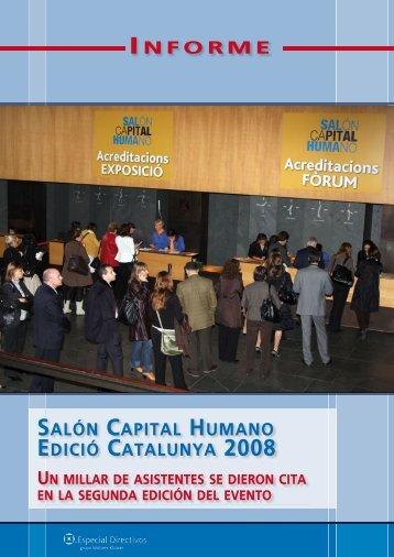 informe salón capital humano edició catalunya 2008 - TopTen ...