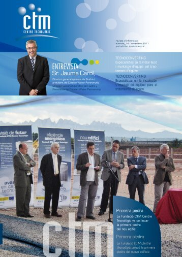Descarregar revista en PDF - CTM Centre Tecnològic, de Manresa