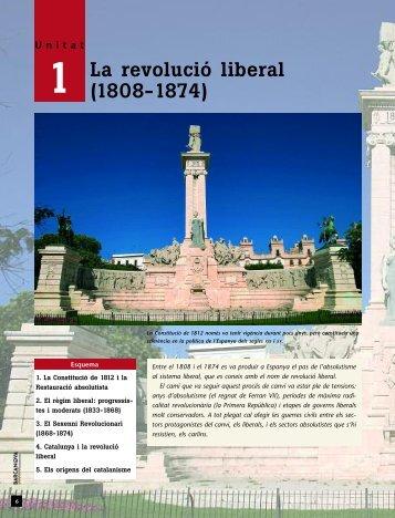 La revolució liberal (1808-1874) - Cga.es