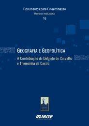 Geografia e geopolítica: a contribuição de ... - Biblioteca - IBGE
