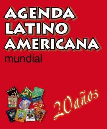 Antología 1992-2011 de la Agenda Latinoamericana