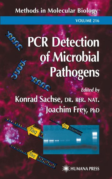 PCR Detection of Microbial Pathogens PCR Detection of Microbial ...