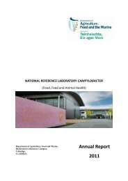 NRL Campylobacter Annual Report 2011 - Department of Agriculture
