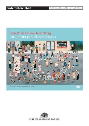 Unterrichtseinheit zu Eine Pinata zum Geburtstag - Stiftung Bildung ...