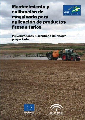 pulverizadores - Junta de Andalucía