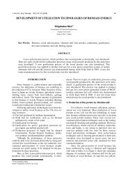 development of utilization technologies of biomass energy - SER