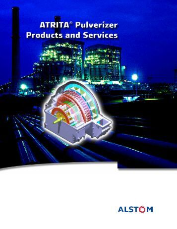 Atrita Pulverizer Products and Services.pdf - APComPower, Inc.