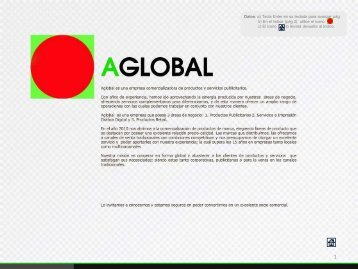 (pág.3) Utilice - Aglobal