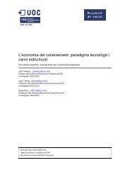 paradigma tecnológico y cambio estructural. Un análisis empírico e ...