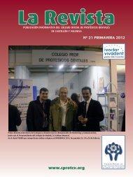 La Revista 21 - Colegio Oficial de Protésicos Dentales de Castellón y