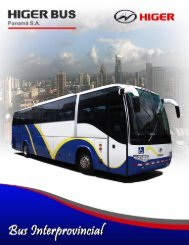 Page 1 Page 2 Bus Intorprovinciol KLQ6129QL Marca Cilindrada ...