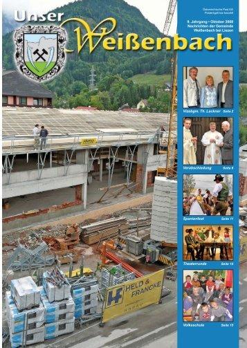 Gemeindezeitung 3/2008 - Weißenbach bei Liezen