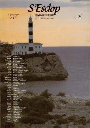 S'Escbp, Quadern cultural - Biblioteca Digital de les Illes Balears