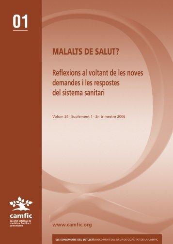 MALALTS DE SALUT? - Camfic