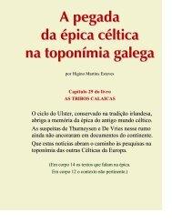 A pegada da épica céltica na toponímia galega - Adigal