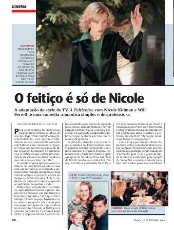 O feitiço é só de Nicole - Alexandre Maron