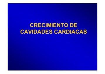 CRECIMIENTO DE CAVIDADES CARDIACAS