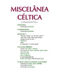 MISCELÂNEA CÉLTICA - Adigal
