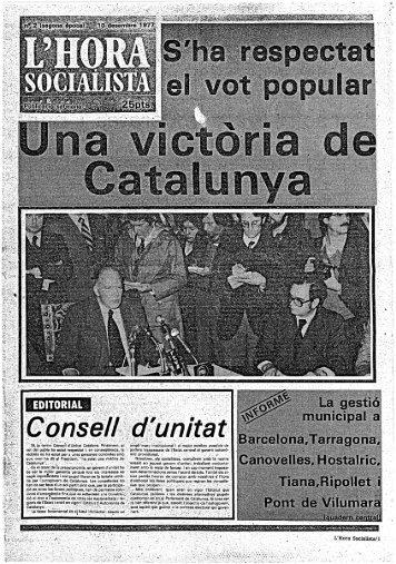 La gestió municipal a Barce!ona,Tarragona, Canovelles ... - Atipus