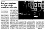 2007 - Dossier prensa Yesa NO