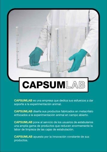 CAPSUMLAB es una empresa que dedica sus esfuerzos a dar ...